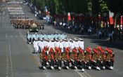 French troops will feature in the 67th Republic Day parade. Throwback to Bastille Day 2009