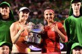 Australian Open: Sania Mirza-Martina Hingis lift 3rd consecutive Grand Slam title