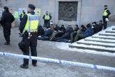 Inhumane: Hundreds of masked men beat refugee children in Stockholm