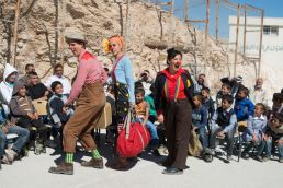 Clowns Without Borders: Entering war zones armed just with a smile to spread happiness among refugees