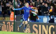 Watch: Jamie Vardy scores wonder goal against Liverpool as Leicester remain top of the table