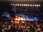 Major fire during Maharashtra Night at Make in India Week. Swift action. No casualties