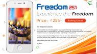 #Freedom251: रिकॉर्ड 7.35 करोड़ बुकिंग, सप्लाई पर सवाल