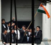 पटियाला कोर्ट हिंसा: वकीलों की हिंसा के सामने कानून असहाय