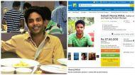 This IIT graduate just put himself a sale on Flipkart. Will it help him get a job?