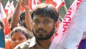 JNU Student leader Kanhaiya Kumar's supporters clashed with Bajrang Dal activists after he was allegedly stopped from leading a procession