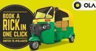 अब नोएडा-गुड़गांव में ऑटो-रिक्शा सेवा ओला ऐप पर
