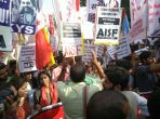 #JNUmarch: Kanhaiya takes centrestage, ignores Umar Khalid, Anirban