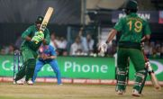 #INDvPAK   On a tough batting pitch, India need 119 to win after bowlers restrict Pak to low total