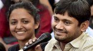 हैदराबाद जाने से पहले राहुल गांधी के दर पर पहुंचे कन्हैया