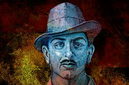 Who was Bhagat Singh and who does he belong to?