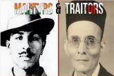 भगत सिंह और वीर सावरकर के बीच कांग्रेस ने छेड़ा ट्विटर युद्ध