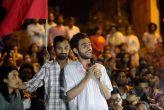 बीजेपी की किसान रैली में उमर खालिद का भाषण चला