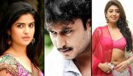 Jaggu Dada Darshan to romance Deeksha, Rachita, Pranitha in Italy