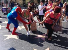 Under attack: Donald Trump's star on Hollywood Walk of Fame