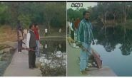 मध्य प्रदेश सूखा: जमनी नदी पर बंदूकधारी तैनात, थाने में बंट रहा है पानी