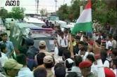 एनआईटी विवाद: छात्रों ने जम्मू-कश्मीर नेशनल हाईवे को किया ब्लॉक