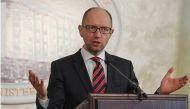 Ukrainian political crisis:  Prime Minister Arseny Yatseniuk resigns