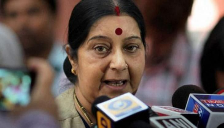 India will help out its sailors stuck in merchant ships at Ajman in UAE: Sushma Swaraj
