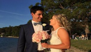 Mitch gets hitched! Oz seamer Starc finds a keeper in Alyssa Healy