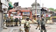 3 army bunkers razed in Handwara. Locals name one after cricketer Nayeem