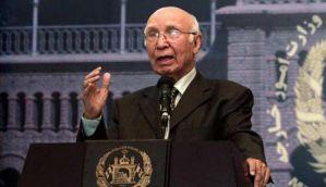 Pakistan not concerned about US-India ties: Sartaj Aziz