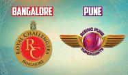 आईपीएल: आरसीबी ने पुणे सुपरजाइंट्स को 13 रनों से हराया