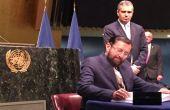 पेरिस जलवायु परिवर्तन समझौता: भारत समेत 171 देशों ने किए दस्तखत