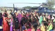 Heavenly affair: Groom hires helicopter for his 'baraat' in Varanasi's village