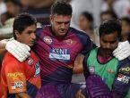 पुणे के विस्फोटक बल्लेबाज केविन पीटरसन आईपीएल से बाहर