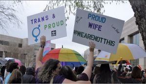 Social media has a field day over 2-yr-old posters demanding death sentence for LGBTQ community
