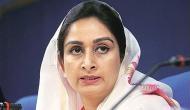 Congress goons creating ruckus in Punjab, tried to murder SAD worker: Harsimrat Kaur