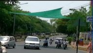 Nagpur's battle against scorching heat: Tarpaulin covers installed at traffic signals