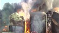 विशाखापट्टनम: बायोडीजल प्लांट में हादसा, 8 टैंक आग की चपेट में