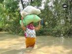 मणिपुर: मूसलाधार बारिश के बाद बाढ़ से बेहाल इंफाल