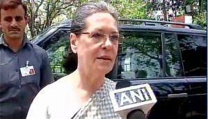 AgustaWestland chopper scam: Congress is not afraid, let BJP name me, says Sonia Gandhi