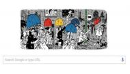 Google Doodles cartoonist Mario Miranda's 90th birthday