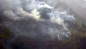 Uttarakhand forest fires spread to Himachal Pradesh's Kasauli