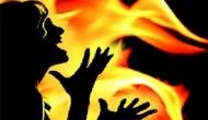 Neighbour pours petrol on girl, sets her ablaze