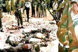 पठानकोट हमले में मारे गए आतंकियों को दफनाया गया