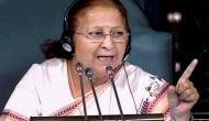 सुमित्रा महाजन की सांसदों को चेतावनी, अनिश्चितकाल काल के लिए बंद कर दूंगी सदन