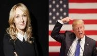J K Rowling apologises for false accusation of Donald Trump