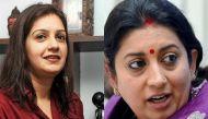 Another Twitter war! Smriti Irani and Priyanka Chaturvedi exchange sarcastic remarks
