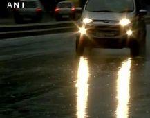 दिल्ली में राहत  की फुहार, 33 डिग्री पहुंचा पारा