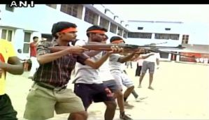VHP president Pravin Togadia to visit self defence camp organised by Bajrang Dal in Noida