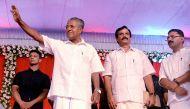 "Kerala: Pinarayi and his ministers sworn in, seek Achuthanandan's ""blessings"""