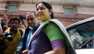 तबीयत खराब होने के बाद सुषमा स्वराज तीसरी बार एम्स में भर्ती