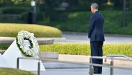Obama makes a speech for 'moral awakening', but won't apologise in Hiroshima
