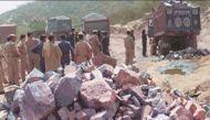 यूपी: महोबा में चट्टान खिसकने से 5 मजदूरों की मौत