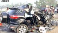 दिल्ली: एसयूवी और ट्रक की टक्कर में छह की मौत